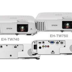 ΝΕΟΙ EPSON EH-TW 740 & 750