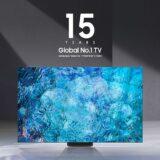 Η Samsung No.1 κατασκευαστής τηλεοράσεων παγκοσμίως για 15η συνεχή χρονιά