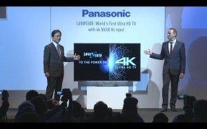 IFA 2013 - Panasonic L65WT600 4K 2