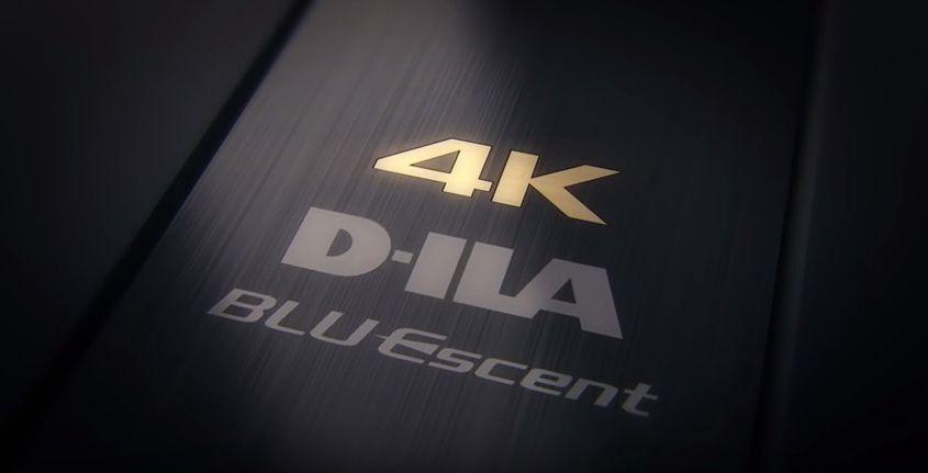 JVC 4K D-ILA BLU Escent