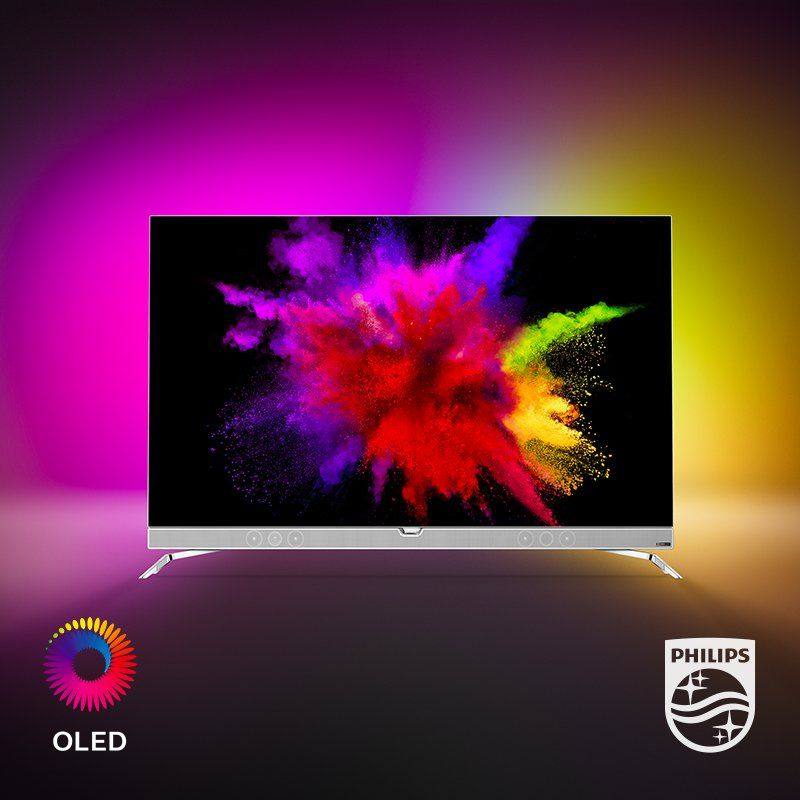 Philips OLED 901F Series: 4K UHD Android TV with Ambilight