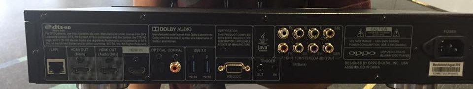OPPO UDP-203 Ultra HD Blu-ray player