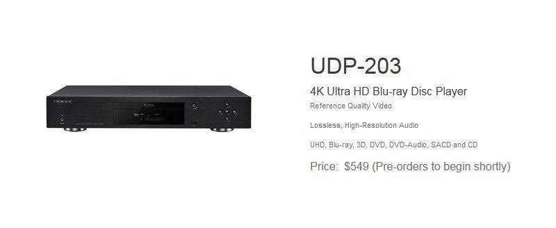 OPPO UDP-203EU